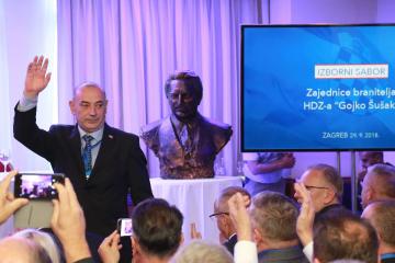 Branitelji HDZ-a pozdravili dolazak Miloševića u Knin i Medveda u Grubore, podsjetili na Tuđmanove riječi