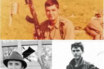 """ALFRED HILL """"ATILA"""" Bojnik Zapovjednik satnije vojne policije 204. Vukovarske brigade 14.05.1956. - 16.10.1991."""