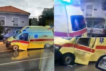 VOZILO HITNE POMOĆI SLETJELO S CESTE: Druga nesreća sanitetskih vozila u tjedan dana!