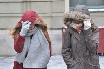 Hladni val: Idući vikend temperatura i do -15