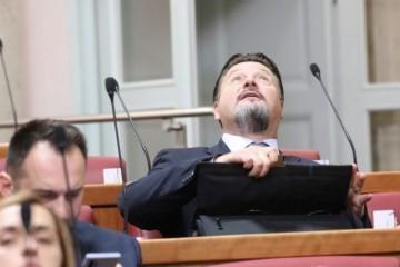 Nedostatak kvoruma: Nema odluke ulazi li Kuščević u Odbor za zakonodavstvo