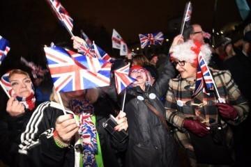Britanci bučno pozdravili napuštanje EU-a