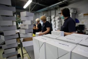 DIP: Počelo tiskanje biračkih listića, upute za birače sljedeći tjedan
