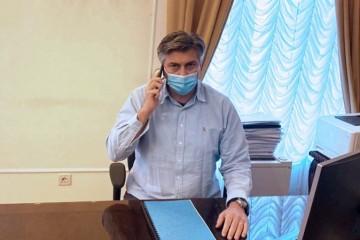 Frka-Petešić: Premijer Plenković nema simptome i nastavlja raditi iz samoizolacije