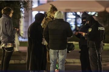 Noćas oko HNK bez okupljanja mladih, pojačane su policijske ophodnje