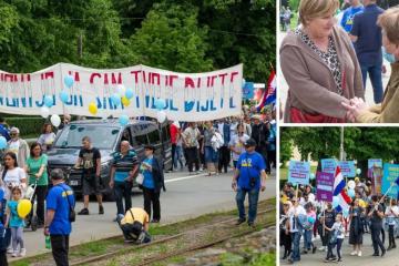 Nekoliko stotina ljudi na 'Hodu za život', u Osijeku i Markić