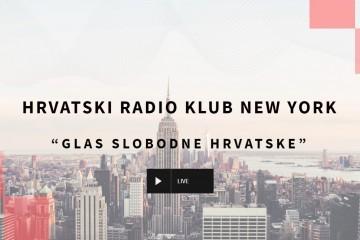 """HRVATSKI RADIO KLUB NEW YORK """"GLAS SLOBODNE HRVATSKE"""""""