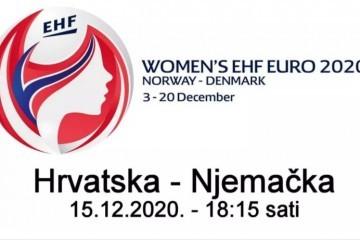 Hrvatska – Njemačka uživo rukomet za žene, ovdje možete gledati Women's EHF Euro 2020 live stream