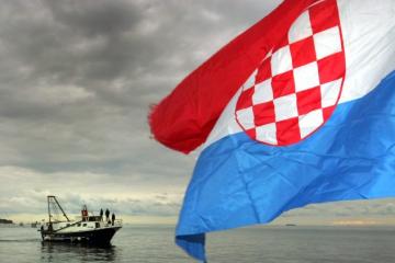 Proglašeni zastava i grb Republike Hrvatske (1990.)