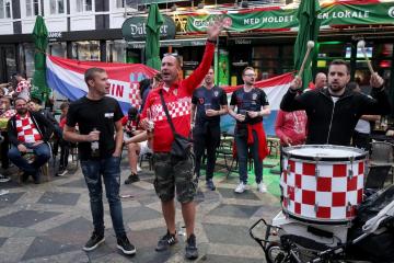 FOTO/VIDEO: KAKVA ATMOSFERA Hrvatski navijači preplavili ulice Kopenhagena