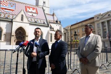 VIDEO: HSP se priključio inicijativi 'Zaštitimo hrvatsku kunu'; Suverenisti: Nismo spremi za euro