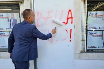 VIDEO Suverenisti poručili vandalima: Bit će vama 'bella chiao'