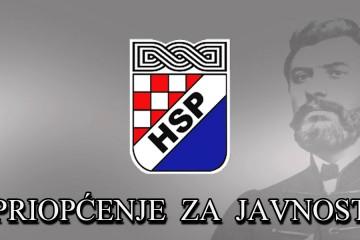 HSP: Pozivamo ministra Božinovića da suspendira četničke pendreklije u Vukovaru