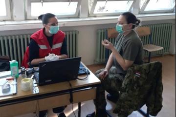Održana posebna akcija darivanja krvi Hrvatske vojske