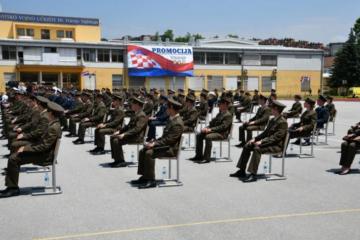 Promovirani časnici na Hrvatskom vojnom učilištu Dr. Franjo Tuđman