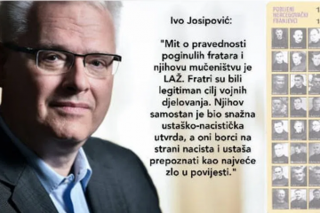 Glasnović – Hoće li 'demokrat' i veliki borac za ljudska prava Ivo Josipović zapaliti svijeću za ubijene?