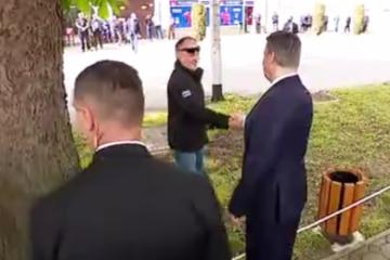 VETERAN ZAGRMIO: 'Milanović je jedini političar koji ima mu*a…' OTKRIO POZADINU SUSRETA: 'ZAISTA SAM MU TURIO STO KUNA! No, to je nevažno, svi ste prešutjeli jutrošnji incident'