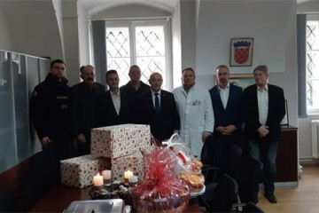 Ministar Medved posjetio dječju bolnicu u Donjoj Bistri