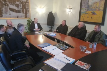 Pripadnici UDHOS-a Baranje, Čepina i Valpovštine obavili radni sastanak sa županom Osječko-baranjske županije, gosp. Ivanom Anušićem