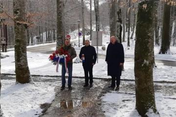 Ministar hrvatskih branitelja Tomo Medved odao počast prvom hrvatskom redarstveniku Josipu Joviću