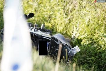 [FOTO] TRAGEDIJA Mladi motociklist sletio s ceste u Đurđevcu, poginuo na mjestu