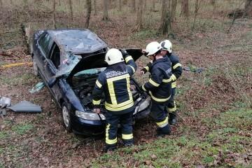 Teška nesreća kod Đurđevca: Ima ozlijeđenih, policija, vatrogasci i hitna na terenu