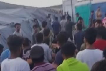 RAT POLICIJE I ILEGALNIH IMIGRANATA U BIHAĆU: Napali policiju kamenjem!