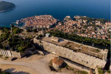 Tvrđava Imperial na Srđu – mjesto s kojeg je 1991. obranjen Dubrovnik