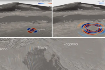 Pogledajte kako se razorni potres širio kroz Hrvatsku