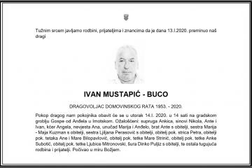 Posljednji pozdrav ratniku - Ivan Mustapić-Buco