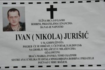 Posljednji pozdrav ratniku - Ivan Jurišić