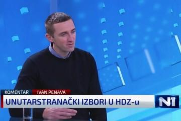 (VIDEO) Penava o problemu skupljanja potpisa u HDZ-u: 'Najspornija je činjenica je da imamo 211.000 članova, nema nas ni pola od tog broja'