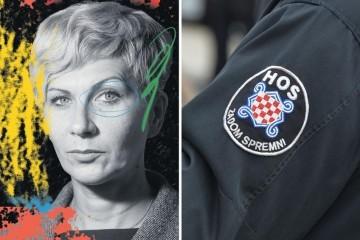 Žena koja se borila sa ZDS na odori
