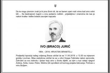 Posljednji pozdrav ratniku - Ivo (Braco) Jurić