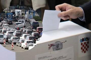 Evo tko je od kandidata glasovao: Gužve na graničnim prijelazima s BiH i Srbijom
