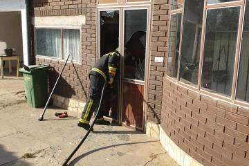ĐURĐEVAC: Požar na obiteljskoj kući