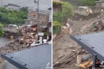 Japan: Potraga za nestalima nakon blatne bujice otežana zbog kiše