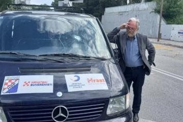Prljava kampanja samo tri dana prije izbora, u blizini Thompsonovog kafića razbijeno staklo na vozilu Ujedinjene desnice: 'Ovo je samo još jedan od napada na nas...'