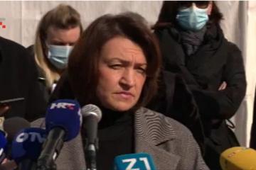 Pavičić Vukičević opozvala prijedlog o nošenju maski u Zagrebu