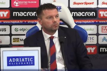 Na Poljudu predstavljen novi trener Hajduka