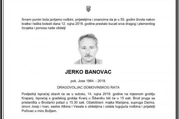 Posljednji pozdrav ratniku - Jerko Banovac