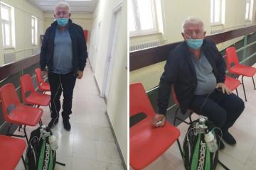 Josip Đakić se oporavlja od korone: 'Nosim sa sobom ruksak s kisikom, ne mogu sam disati'