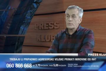 """VIDEO - JOSIP JURČEVIĆ: """"Je li moguće da je netko tko se borio protiv Hrvatske dobije status civilne žrtve rata"""""""