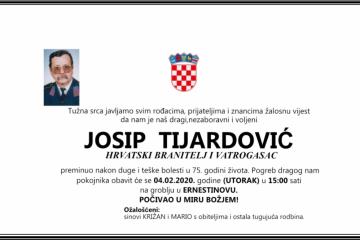 Posljednji pozdrav ratniku - Josip Tijardović
