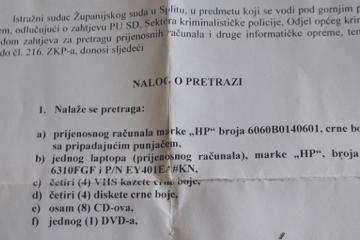 EKSKLUZIVAN I NIKAD OBJAVLJEN DOKUMENT: Na današnji dan, prije deset godina, izvršen je pretres domova i privođenje hrvatskih branitelja bliskih obrani generala Gotovine!…