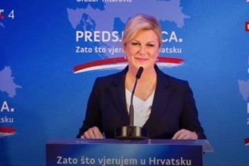 Kolinda Grabar-Kitarović službeno objavila kandidaturu