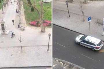 Policija po Zagrebu upozorava: 'Idite kući, nastupa karantena'!