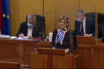 Karolina Vidović Krišto: Ključ hrvatskog razvoja jest vladavina prava i jednakost pred zakonom