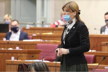 Karolina Vidović Krišto: Plenkovićeva Vlada sudjelovala u korupciji oko Krš-Pađene
