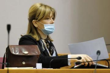 VIDEO Vidović Krišto je u Saboru spominjala novinare, prozvala je HRT-ov dvojac